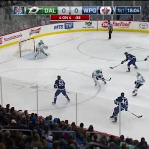 Kari Lehtonen Save on Blake Wheeler (01:58/1st)