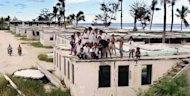 <p>File photo of squalid housing on the island state of Nauru, the world's smallest republic. Australian Prime Minister Julia Gillard has suggested re-opening a centre on Nauru in order to process asylum seekers heading to Australia.</p>