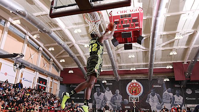 High School Basketball: McDonald's Jam Fest