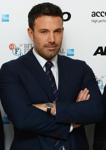 Ben Affleck is seen looking dapper at the gala premiere of 'Argo' during the 56th BFI London Film Festival in London on October 17, 2012 -- Getty Premium