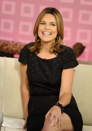 "CORRECTS TO CURRY WILL ANNOUNCE HER DEPARTURE, NOT HAS ANNOUNCED HER DEPARTURE -FILE - In a Wednesday, Aug. 10, 2011 file photo provided by NBC,  ""Today"" show co-host Savannah Guthrie appears on the set during a broadcast, in New York. Guthrie is expected to replace Ann Curry  as ""Today"" show co-host. Curry is expected to officially make her exit from NBC's ""Today"" show after one year as co-host. She told USA Today she would announce her departure Thursday, June 28, 2012.  (AP Photo/NBC, Peter Kramer, File)"