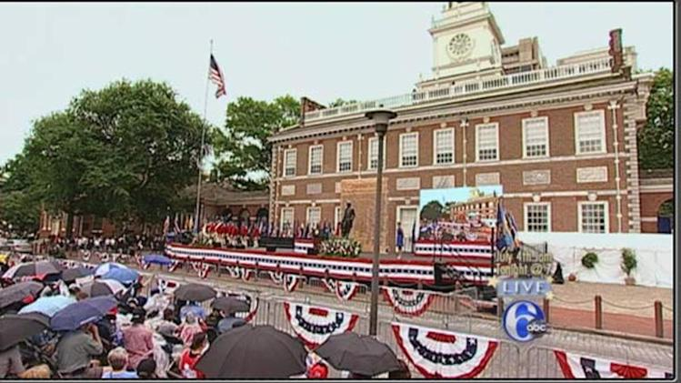 PHOTOS: Philly's July 4th Ceremony and Parade