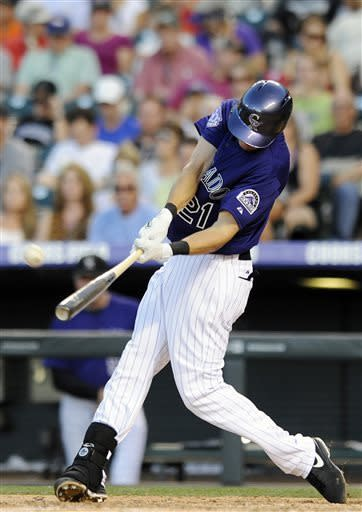Chacin ends winless drought in Rockies victory