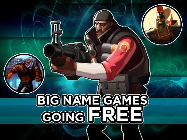 Big Name Games Going Free