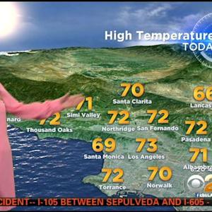 Evelyn Taft's Weather Forecast (Nov. 25)