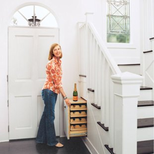 Under-the-Stair Wine Rack