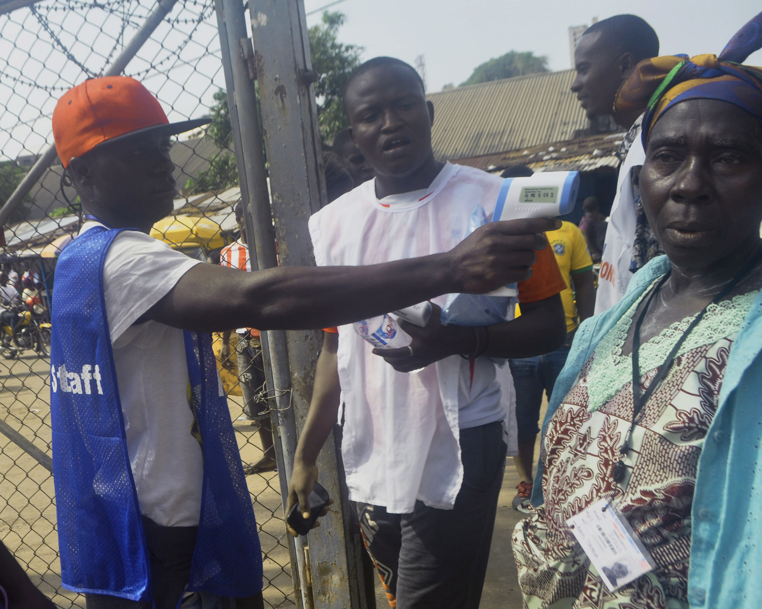 Liberia holds Senate vote amid Ebola fears