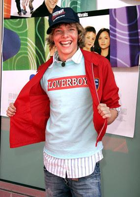 Premiere: Hunter Parrish at the Hollywood premiere of MGM's Sleepover - 6/27/2004