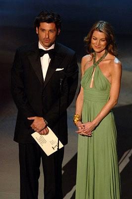 Patrick Dempsey and Ellen Pompeo Emmy Awards - 9/18/2005
