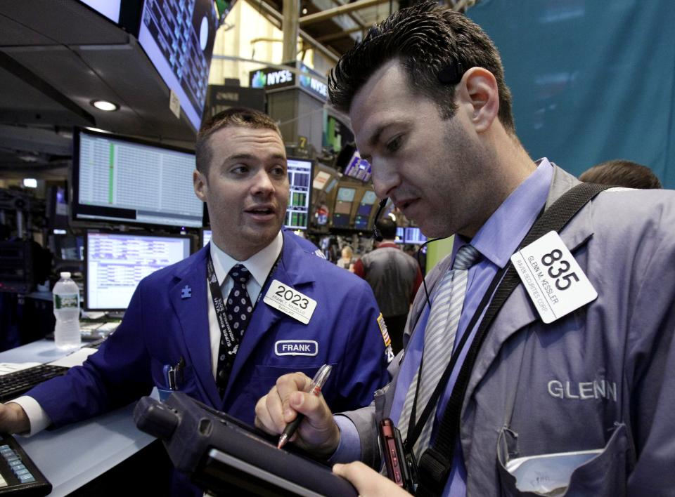 Stocks at 1-month high; now investors watch Greece