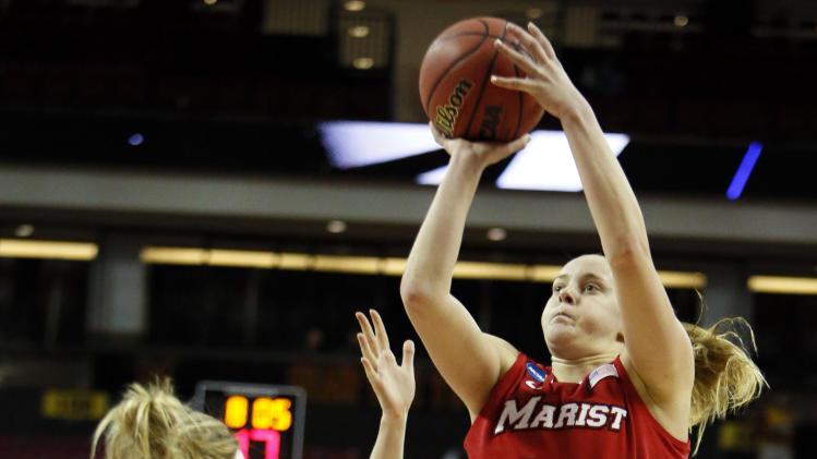 NCAA Womens Basketball: NCAA Tournament-Michigan State vs Marist