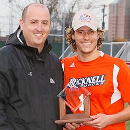 Bucknell's Blickman Charms Hometown at PL Championship