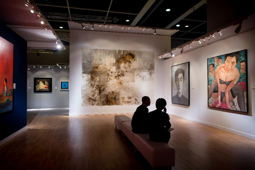 China appetite for pricey contemporary art 'suddenly evaporates'