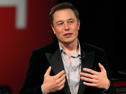 Elon Musk of Tesla, SpaceX