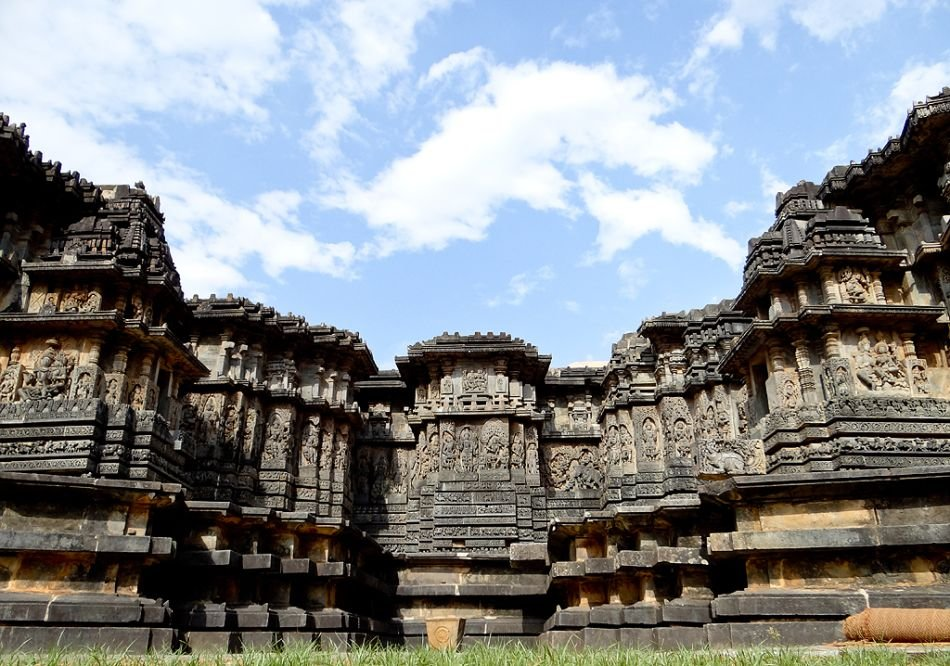     The Hoysaleshwara temple at Halebeedu in Hassan district, Karnataka, is a survivor of centuries. It has two shrines dedicated to Lord Shiva. Hoysaleshwara and Shanthaleshwara are the two deities.      View slideshow: Halebeedu - the crown jewel of Hoysala temples 