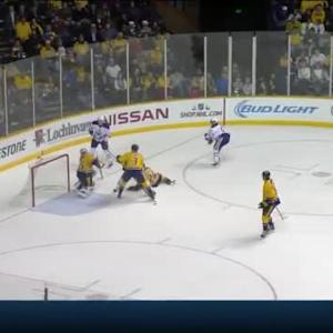 Pekka Rinne Save on David Perron (16:00/3rd)