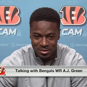 Cincinnati Bengals wide receiver A.J. Green: 'I have to get back on the field'