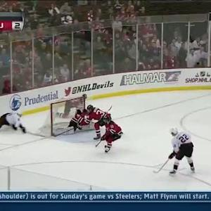 Kyle Palmieri's wraparound wins it in OT
