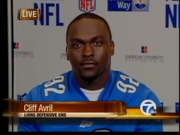 Cliff Avril & other NFL players fight dropout rate