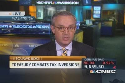 Treasury moves to combat tax inversions