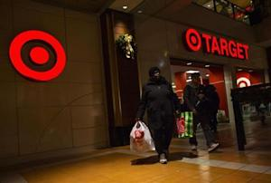 People shop at Target store during Black Friday sales in the Brooklyn borough of New York