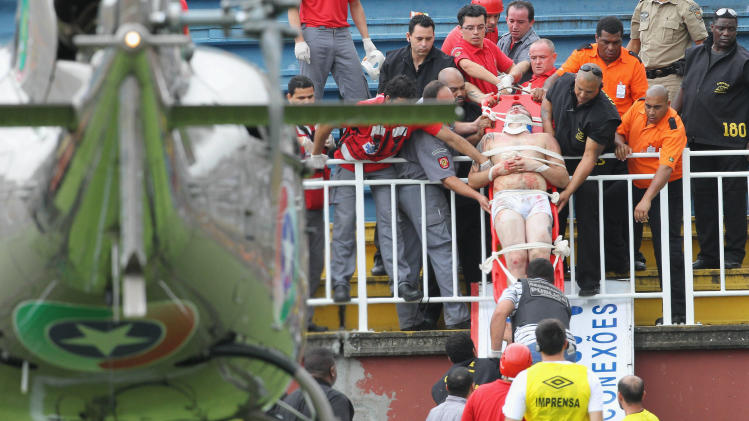 Police detain 19 involved in Brazil fan violence