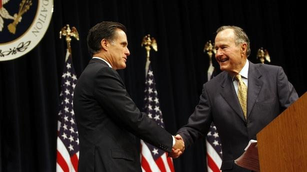 George H.W. Bush Will Make His Romney Endorsement Official