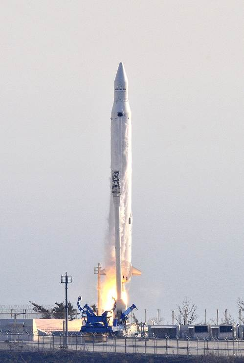 South Korea Launches Rocket in 1st Space Success