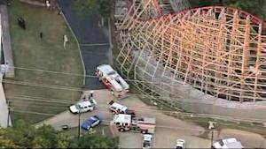 Woman dies while riding Six Flags roller coaster in Texas