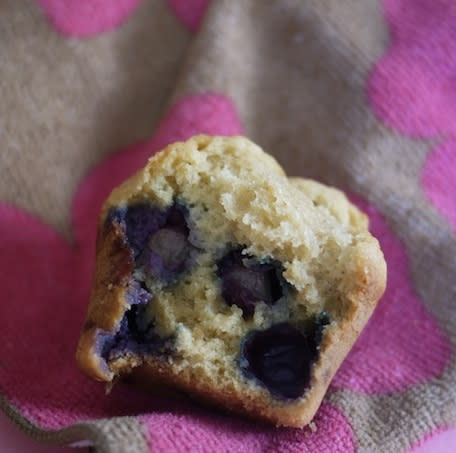 Peanut Butter and 'Jelly' Muffins