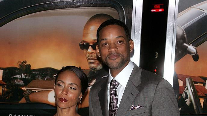 Lakeview Terrace NY Premiere 2008 Jada Pinkett Smith Will Smith