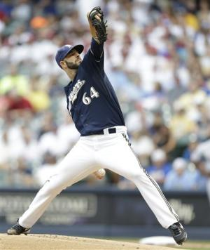 Fiers perfect through 6, Brewers beat Reds 3-1