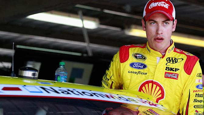 Rain throws curve at Logano's weekend