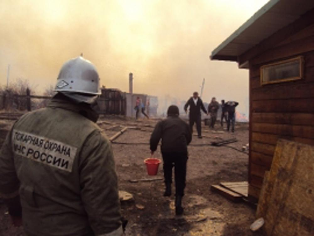 Russian TV channel admits reporter dropped cigarette at wildfire