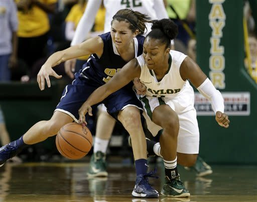 No. 3 Baylor women beat Oral Roberts 94-56