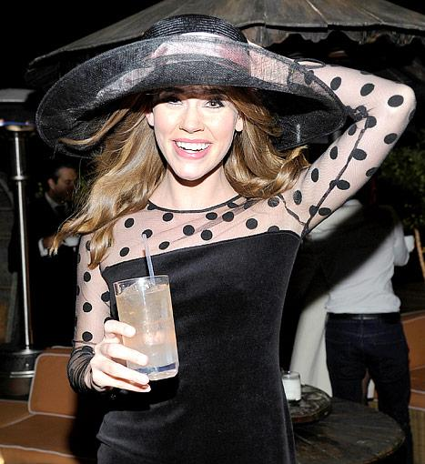 Revenge Star Christa B. Allen Celebrates 21st Birthday With Big Rooftop Party