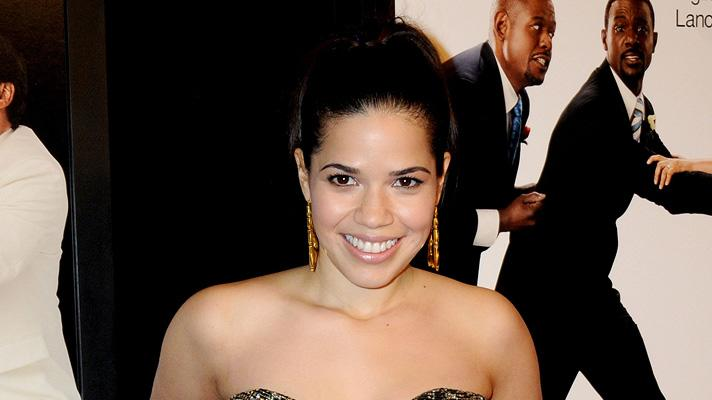 Our Family Wedding NY Premiere 2010 America Ferrera