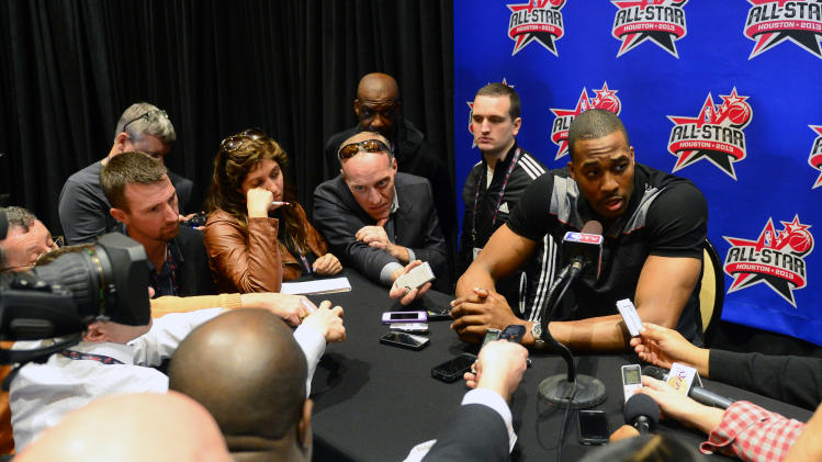 NBA: All Star Game-West All Stars Press Conference