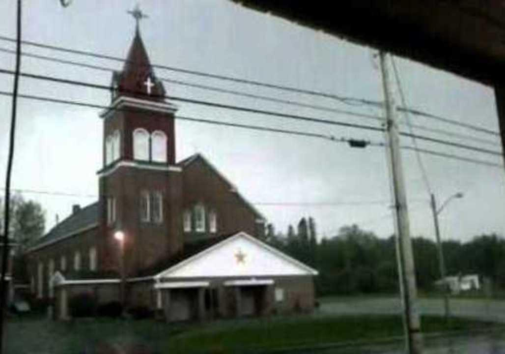'Holy s---!': Watch the moment lightning strikes a Maine church