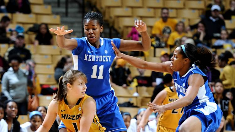 NCAA Womens Basketball: Kentucky at Missouri