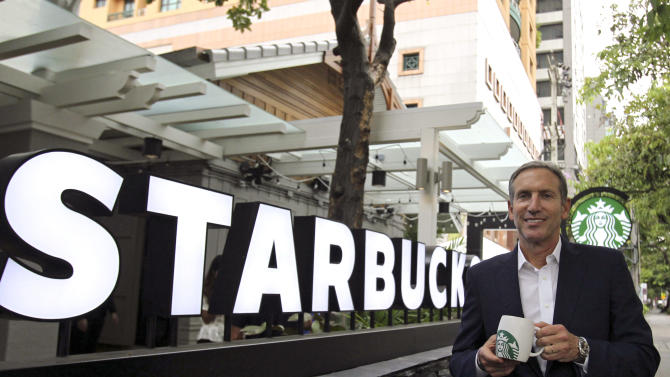 Starbucks sees Myanmar entry in couple of years