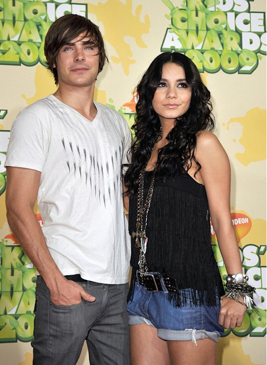 Kids Choice Awards 2009 Zac Efron Vanessa Hudgens