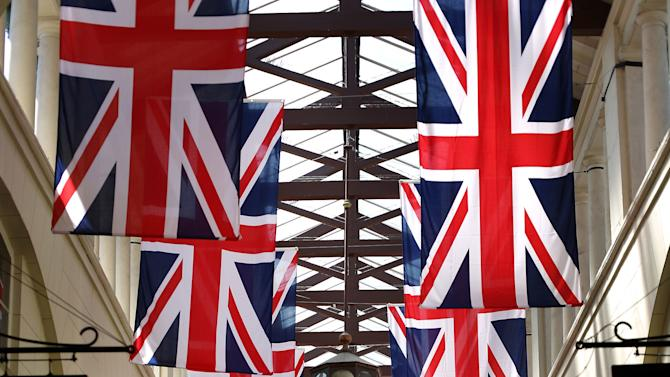 London Prepares For Diamond Jubilee Celebrations