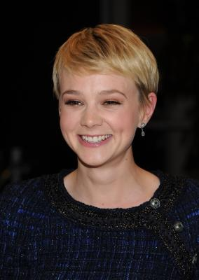 Carey Mulligan arrives at the premiere of The Creative Coalition's 'The Greatest' held at the Linwood Dunn Theater, Los Angeles, March 25, 2010 -- Getty Images