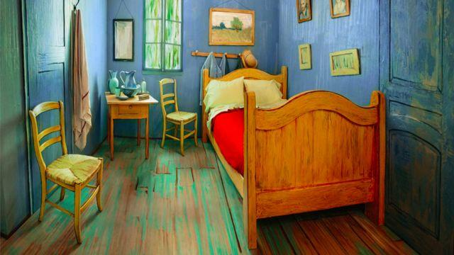 Photos: The Art Institute of Chicago has perfectly recreated Van Gogh's bedroom, and it's for rent on Airbnb