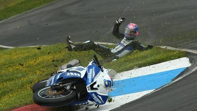 Knockhill BSB: 'I should know better' - Easton