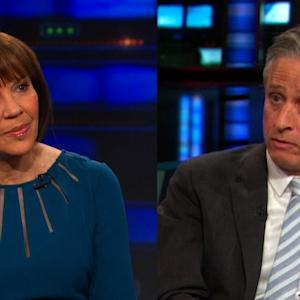 Jon Stewart Offers No Quarter in Interview with Judith Miller