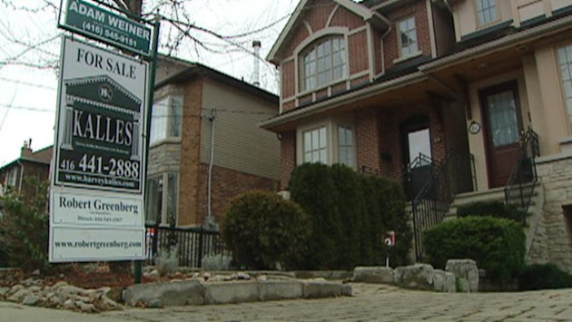 About 12% fewer Canadian houses were sold in November compared to the same month a year ago, and prices were off by just under 1%
