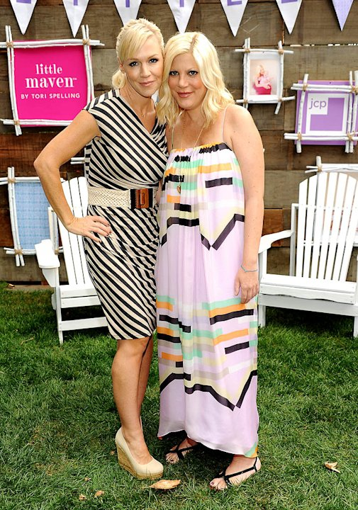 Tori Spelling And jcpenney Celebrate The Launch Of Little Maven