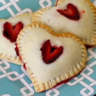 Heart Hand Pies